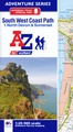 Wandelatlas 1 Adventure Atlas South West Coast Path North Devon & Somerset | A-Z Map Company