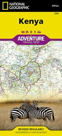 Wegenkaart - landkaart 3205 Adventure Map Kenya - Kenia | National Geographic