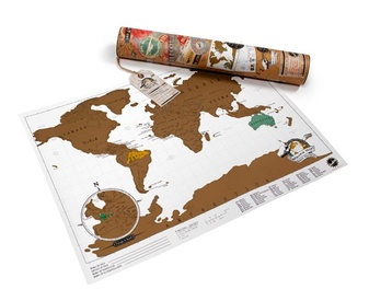 Scratch Map Travel Edition | Luckies