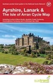 Fietskaart 37 Cycle Map Ayrshire, Lanark & The Isle of Arran | Sustrans