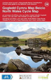 Fietskaart 24 Cycle Map North Wales - noord Wales | Sustrans