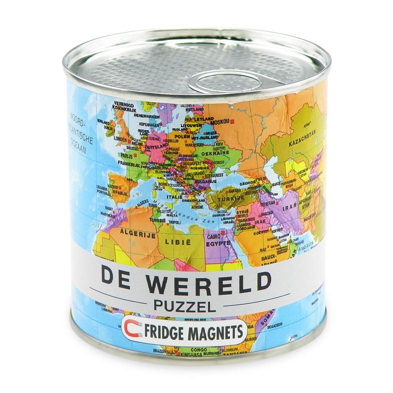 Magnetische puzzel van de wereld extra goods 4260153728541 reisboekwinkel de zwerver - Doos huis wereld ...