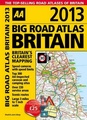 Wegenatlas Big Easy Road Atlas Britain 2013 Engeland en Schotland | AA