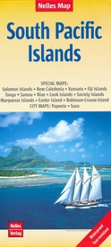 Wegenkaart - landkaart South Pacific Islands - Eilanden Stille Oceaan | Nelles Verlag