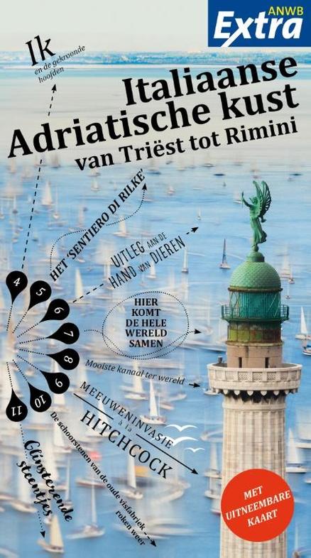 Reisgids ANWB extra Adriatische Kust | ANWB Media | vanaf €12,99