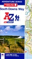 Wandelkaart Adventure Atlas South Downs Way | A-Z