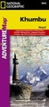 Wandelkaart 3002 trekking map  Khumbu - Nepal | National Geographic