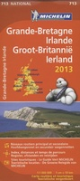 Wegenkaart - landkaart Michelin 713 Groot-Brittannië & Ierland 2013 Great Britain | Michelin