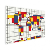 Mondriaan World Map