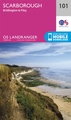 Wandelkaart - Topografische kaart 101 Landranger Scarborough, Bridlington & Filey | Ordnance Survey