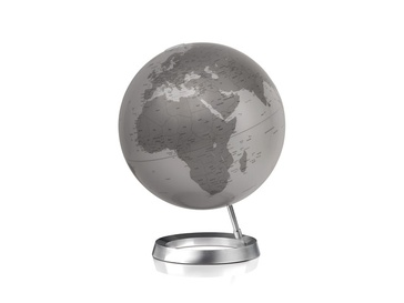 Wereldbol - Globe 24 Full Circle Vision Zilver  | Atmosphere
