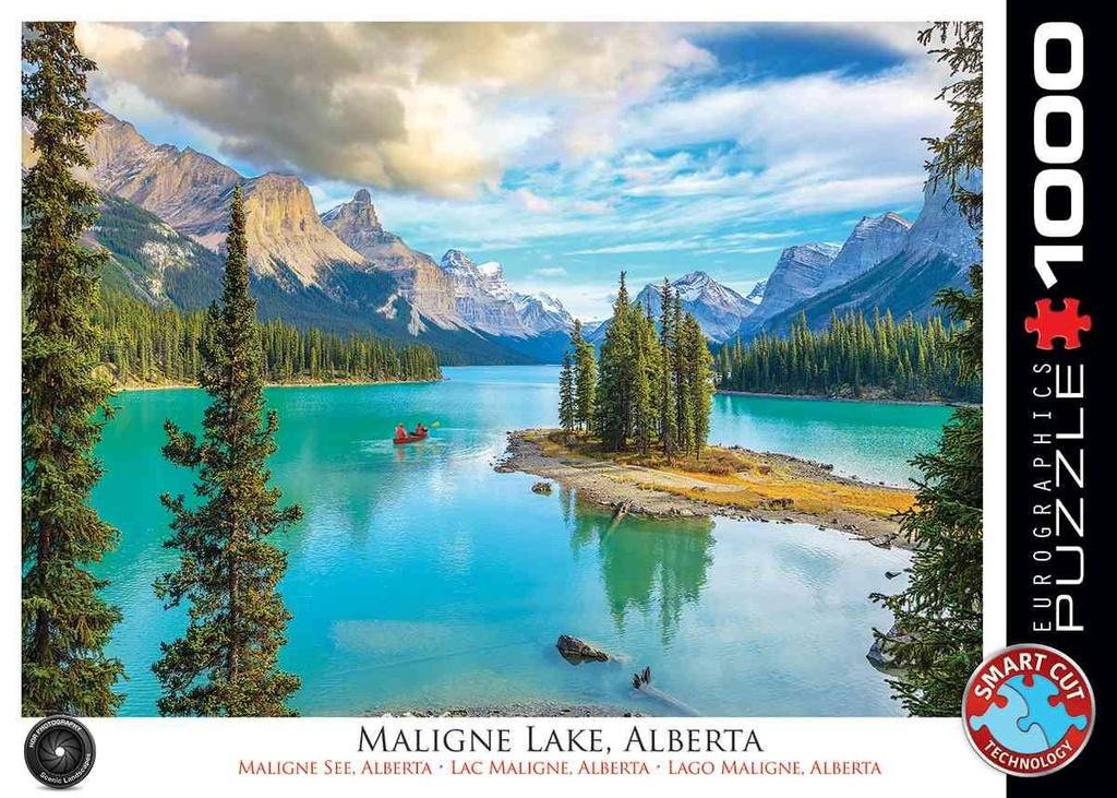 Puzzel Maligne Lake, Canada cover