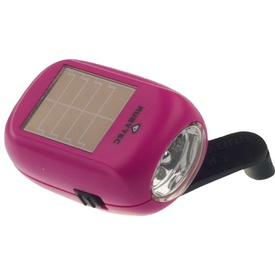 Zaklamp Kao Baby Swing Solar Flashlight Pink | Rubytec