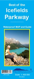 Wegenkaart - landkaart 04 Best of the Icefields Parkway | Gem Trek Maps