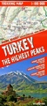 Wandelkaart Trekking map Turkije - Turkey, the highest peaks | TerraQuest