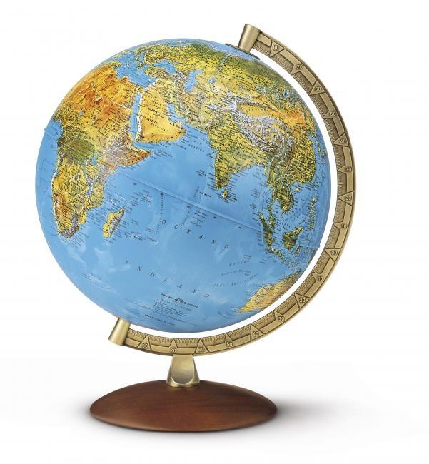Wereldbol globe 82 astra nova rico 8000623000540 reisboekwinkel de zwerver - Huis lamp wereld nachtkastje ...