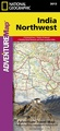 Wegenkaart - landkaart 3013 Adventure Map India Northwest - Noordwest | National Geographic
