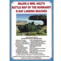 Major & Mrs Holt's Battle Map of The Normandy D-Day Landing Beaches