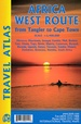 Wegenatlas Travel Atlas Africa West Route: from Tangier to Cape Town | ITMB