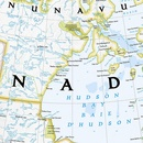 Wandkaart Canada, 97 x 82 cm | National Geographic Wandkaart Canada, 97 x 82 cm | National Geographic