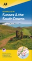 Wandelgids 50 Walks in Sussex and South Downs | AA