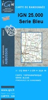 Wandelkaart 2620 O - 2620O Toucy topografische kaart | IGN Institut Geographique National