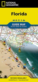 Wegenkaart - landkaart Guide Map Florida | National Geographic