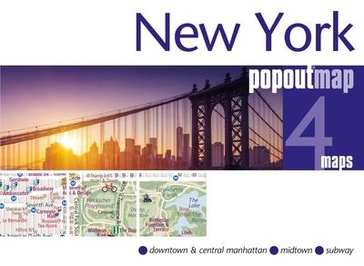 Stadsplattegrond Popout Map New York | Compass Maps