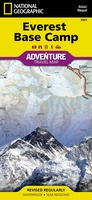 trekking map  Everest Base Camp