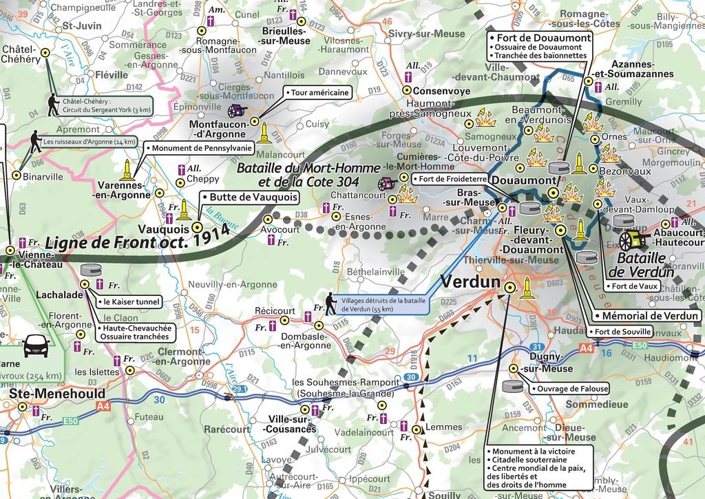 Plan Ville De Bar Le Duc