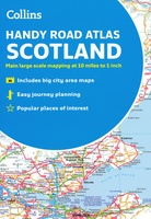 Handy Road Atlas Scotland - Schotland