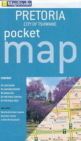 Stadsplattegrond Pocket map Pretoria | MapStudio