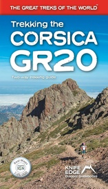 Wandelgids Trekking the Corsica GR20 | Knife Edge Outdoor