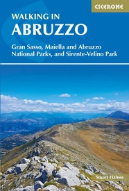 Wandelgids Walking in Abruzzo - Abruzzen | Cicerone (9781852849788)