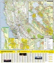 Wegenkaart - landkaart Guide Map Northern California | National Geographic