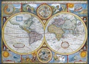 Legpuzzel Wereld antiek vintage - Antique World Map | Eurographics