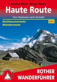 Wandelgids Haute Route Zwitserland | Rother Bergverlag