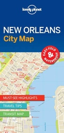 Stadsplattegrond City map New Orleans | Lonely Planet
