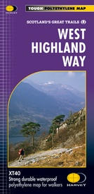Wandelkaart West Highland Way | Harvey Maps