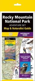 Natuurgids - Wandelkaart Adventure Set Rocky Mountain National Park | National Geographic