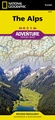Wegenkaart - landkaart 3321 Adventure Map Alps - Alpen | National Geographic
