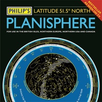 Planisphere (Latitude 51. 5 North)