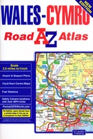 Wales road atlas