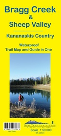 Wandelkaart 08 Bragg Creek and Sheep Valley | Gem Trek Maps