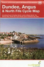 Fietskaart 44 Cycle Map Dundee, Angus & North Fife | Sustrans