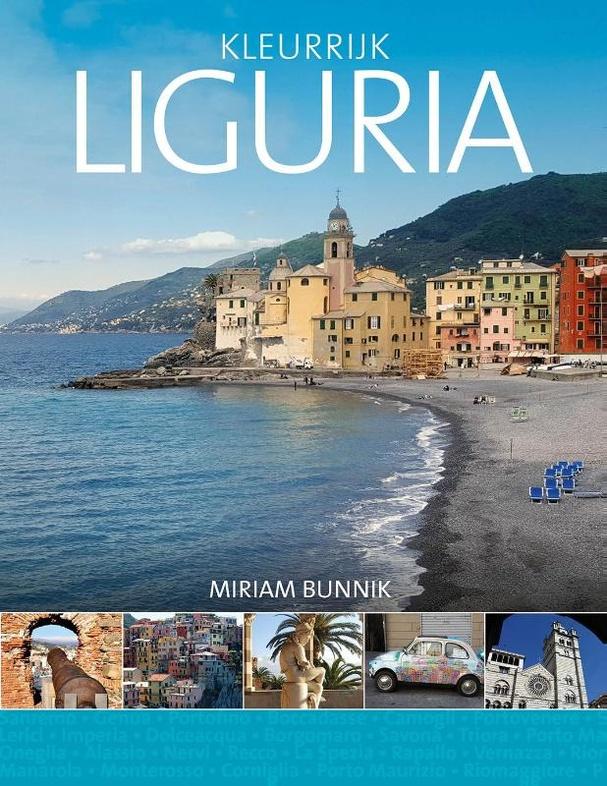 Reisgids Kleurrijk Liguria | Edicola | vanaf €22,50