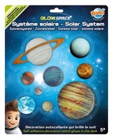 Zonnestel Glow in the dark - Solarsystem