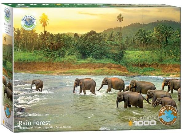 legpuzzel-rainforest-regenwoud-olifanten-eurographics