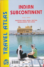 Wegenatlas -   Travel Atlas Indian Subcontinent | ITMB