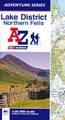 Wandelatlas Adventure Atlas Lake District Northern Fells | A-Z Map Company